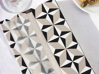 Napkiss Géométrique N°4 - étoile:  de style  par Oolaloop