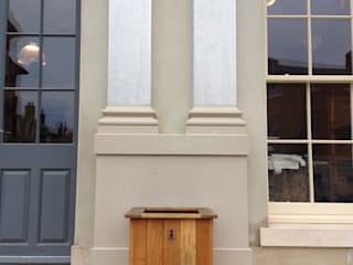 Brace of Butchers - Planters installation.:   by The Dorset Planter Co.