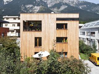 Transformation zum Zweiparteienhaus Moderne Häuser von Architekt Daniel Fügenschuh ZT GMBH Modern