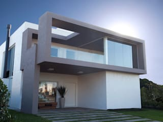 Tweedie+Pasquali Casas de estilo minimalista