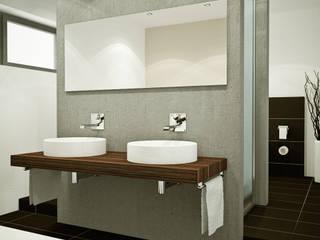 Bad: moderne Badezimmer von Innenarchitektur  Schucker & Krumm