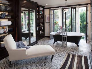 Drummonds Case Study: Loz Feliz Retreat, California:  Bathroom by Drummonds Bathrooms