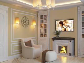 гостиная: Спальни в . Автор – LC.DESIGN
