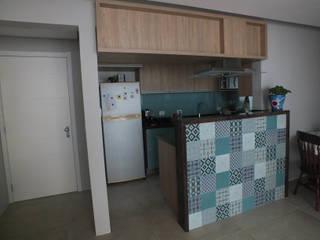 Apartamento de família jovem Arketing Identidade e Ambiente Cozinhas clássicas
