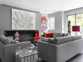 ST JOHN'S WOOD Modern Living Room by Iggi Interior Design Modern