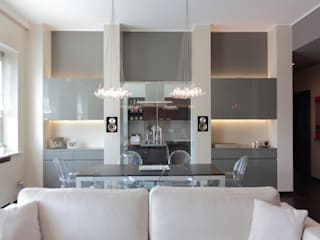 Modern dining room by Gaia Brunello | Photo&HomeStaging Modern