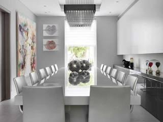 ST JOHN'S WOOD Modern Dining Room by Iggi Interior Design Modern