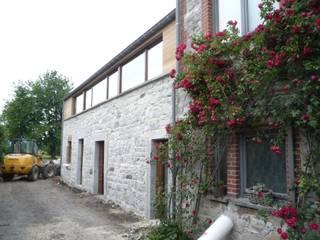 Rénovation d'une grange à Bonneville par helium3 positive architecture
