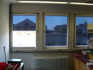Universität Hohenheim -- innenliegender Sonnenschutz ah-rol Folienrollosysteme UG (hb) Klassische Schulen