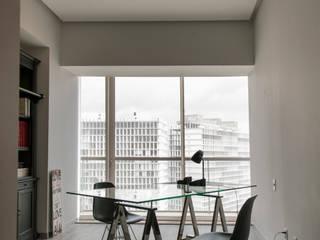 Studeerkamer/kantoor door kababie arquitectos