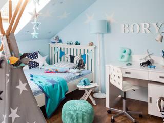 Pokój chłopca od Toto Design Skandynawski
