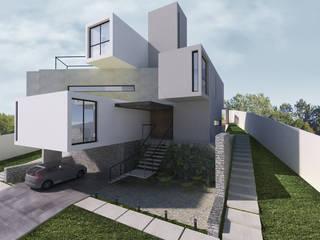 Casas modernas de K+S arquitetos associados Moderno