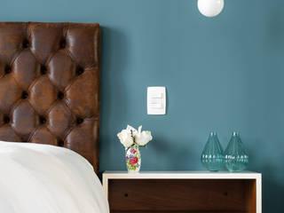 PM Arquitetura Industrial style bedroom