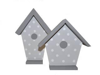 Domki - budki dla ptaków 3D od Zuzu Design Nowoczesny