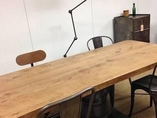 Table Industrielle - Création par Le Rétrocanteur Industriel