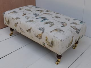 Voyage Decoration Footstools de Herts Upholstery Rural