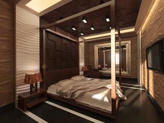 Chambre de style  par Tutto design,