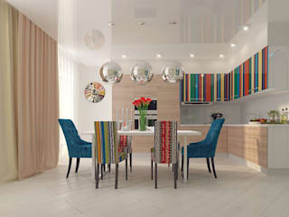 Квартира в ЖК Антарес. Кухня в стиле минимализм от Tutto design Минимализм