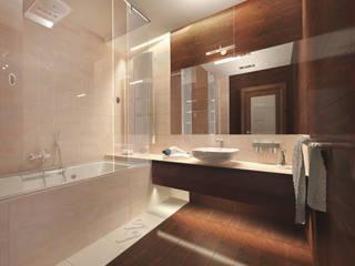 Salle de bains de style  par Tutto design,