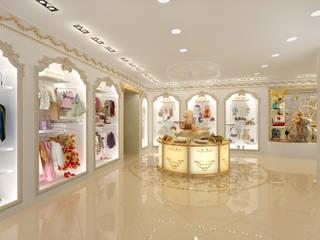 Locaux commerciaux & Magasins de style  par Tutto design,