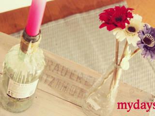 Zimmer Dekoration - Tipps von einer Blogleserin: modern  von mydays,Modern
