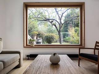 scandinavian Living room by bertin bichet architectes