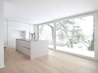 PROJECT WAS DELETED!: moderne Küche von Spandri Wiedemann Architekten