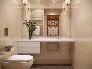 Дизайн студия 'Чехова и Компания' Minimalist bathroom