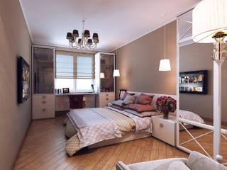 Дизайн студия 'Чехова и Компания' Eclectic style bedroom