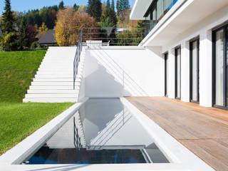 Haus Mauthe:  Terrasse von Philipp Architekten - Anna Philipp