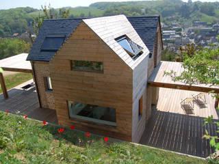 Franklin Azzi Architecture Casas estilo moderno: ideas, arquitectura e imágenes