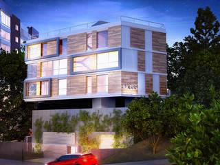M355, Edificio de Lofts duplex - Porto Alegre / Brasil hola Casas modernas