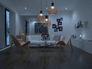Salon de style de style Scandinave par Sciontidesign