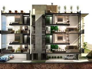 S17 LOFTS - Edificio Residencial Porto Alegre / Brasil hola Casas modernas