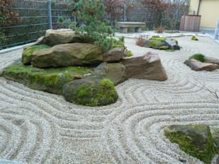 Jardines de estilo  por Gärten für die Seele - Harald Lebender