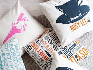 Duck Feather Cushions:   by Victoria Eggs