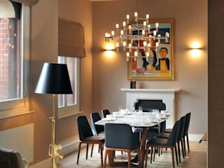 St. Pancras Penthouse Modern dining room by TG Studio Modern