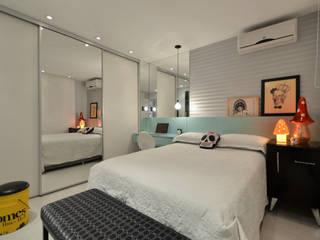 Dormitorios de estilo moderno de Johnny Thomsen Arquitetura e Design Moderno
