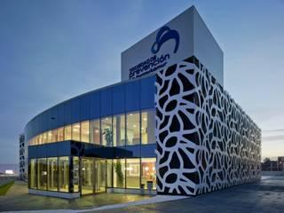 SPibermutuamur  - Murcia: Casas de estilo  de DENORTE PROJECT MANAGEMENT