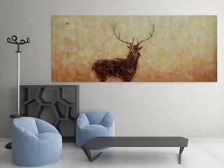 WANDKONZEPT - Wanddesign nach Maß - Handgefertigte Kunstbilder: modern  von WANDKONZEPT by yourPainting,Modern