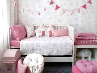 Rustic style nursery/kids room by jumine Rustic