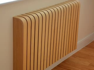 Wooden Ash Radiator Cover: scandinavian Living room by Cool Radiators? It's Covered!