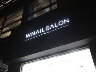 현대 여성들의 휴머니즘공간으로 재탄생한 W NAIL SALON : 1204디자인의 현대 ,모던