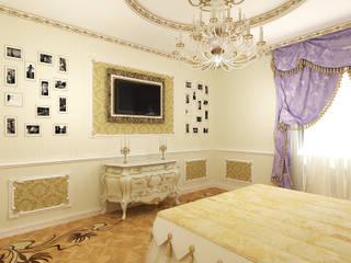 Дизайн студия Александра Скирды ВЕРСАЛЬПРОЕКТ Chambre classique
