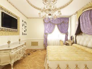 Classic style bedroom by Дизайн студия Александра Скирды ВЕРСАЛЬПРОЕКТ Classic