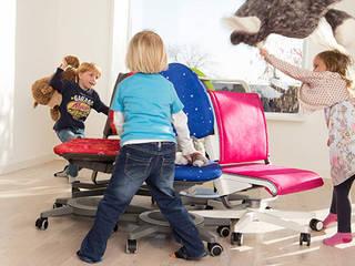 Bewegung im Kinderzimmer - Still sitzen war gestern:   von Kinderzimmerhaus