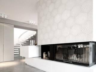 Villa Mainblick, Taunus Moderner Flur, Diele & Treppenhaus von cma cyrus I moser I architekten BDA Modern