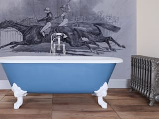 Bespoke Cartmel Bathroom by UKAA UKAA | UK Architectural Antiques BathroomBathtubs & showers