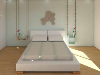 Scandinavische slaapkamers van MIMESIS INTERIORISMO Scandinavisch