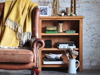 Sterling Oak Low Bookcase de The Cotswold Company Rural